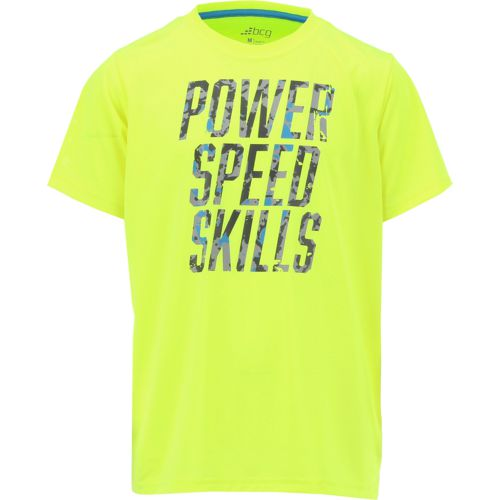 BCG Boys' Power Speed Skills Short Sleeve T-shirt