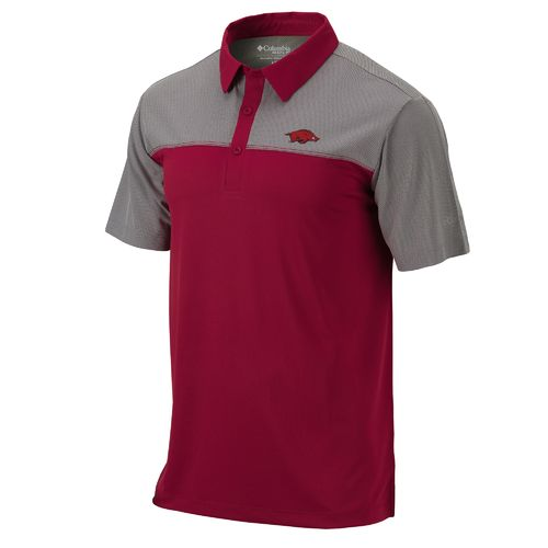 Columbia Sportswear Men's University of Arkansas Front Nine Polo Shirt - view number 1