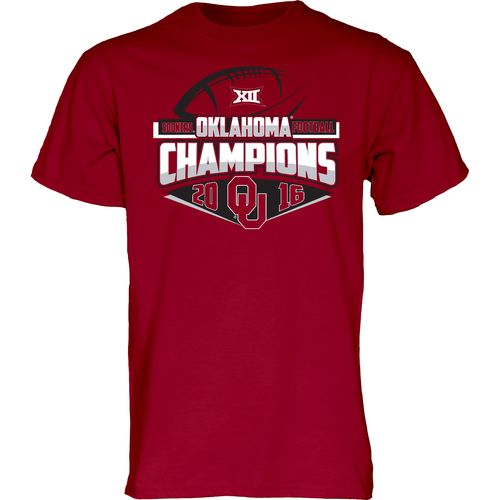 Blue 84 Men's University of Oklahoma 2016 Big 12 Conference Champion T-shirt