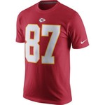 Nike™ Men's Kansas City Chiefs Travis Kelce #87 Player Pride Name and Number T-shirt - view number 2