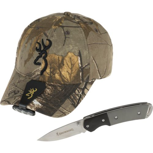 Browning Men's Night Seeker Cap Set
