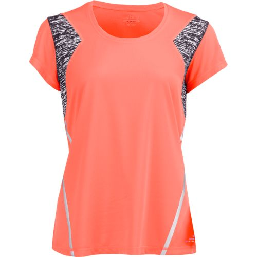 BCG Women's BioViz Short Sleeve V-neck Running Top