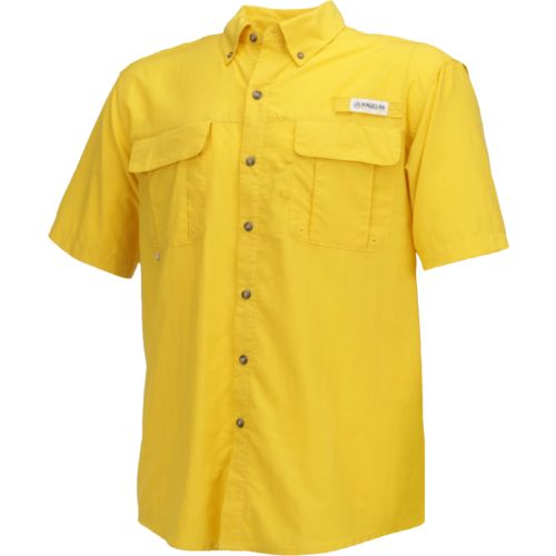 Magellan Outdoors Men's Laguna Madre Solid Short Sleeve Fishing Shirt - view number 1