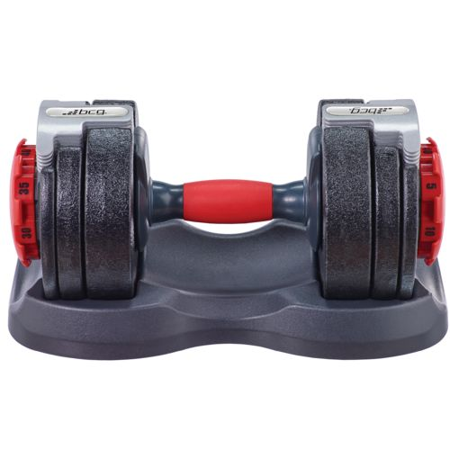 BCG 40 lbs Adjustable Dumbbell - view number 2