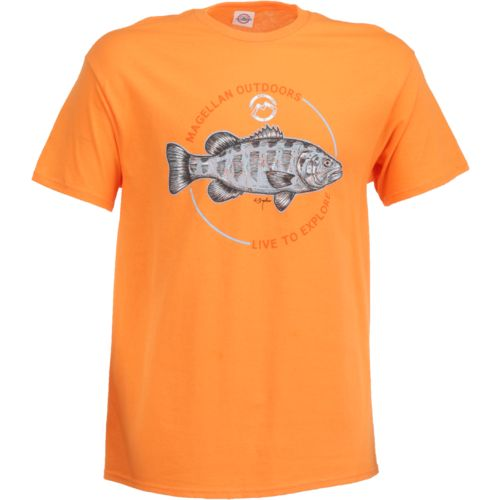 Magellan Outdoors Men's Sketched Bass T-shirt