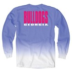 Blue 84 Women's University of Georgia Ombré Long Sleeve Shirt - view number 1