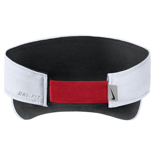 Nike Men's University of Mississippi AeroBill Sideline Visor - view number 2