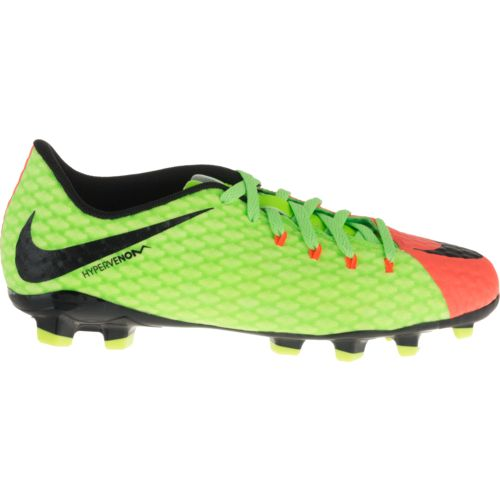 Display product reviews for Nike Boys' Jr Hypervenom Phinish II FG Soccer Shoes