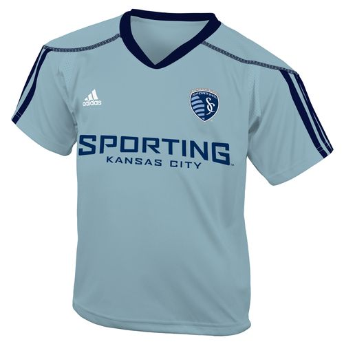 adidas™ Boys' Sporting Kansas City Home Call Up Soccer Jersey
