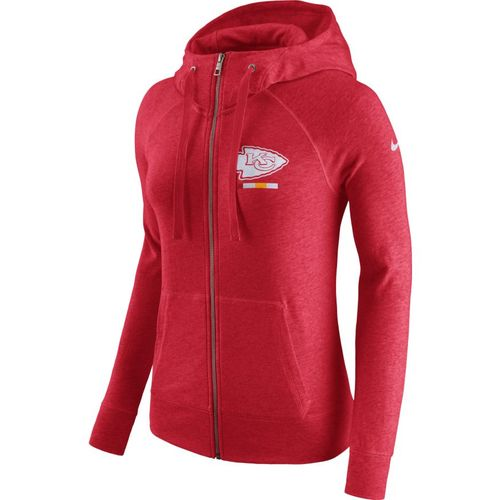 Nike™ Women's Kansas City Chiefs Full Zip Gym Vintage Hoodie