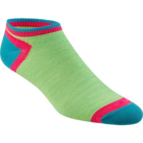 Display product reviews for BCG Women's Colorblock Random Feed Fashion Socks 6 Pack