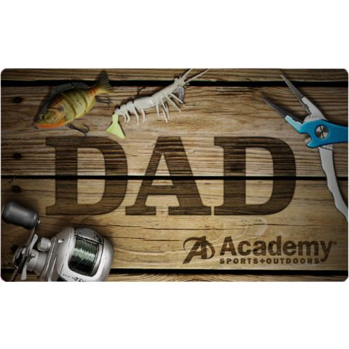 Father's Day Fishing Academy Gift Card