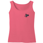 Image One Women's McNeese State University Comfort Color Tank Top - view number 2