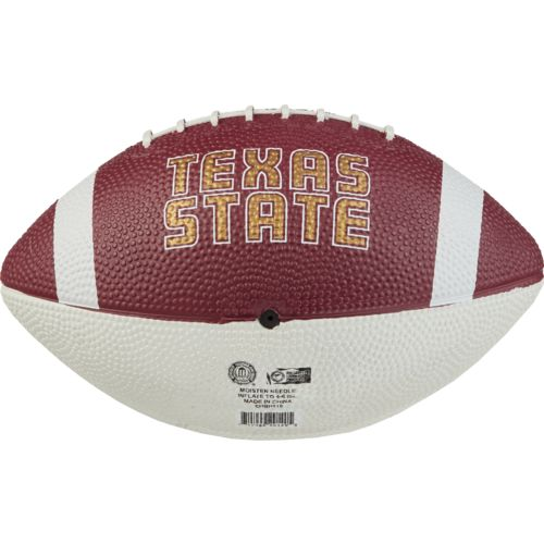 Rawlings™ Texas State University Hail Mary Youth-Size Rubber Football - view number 2