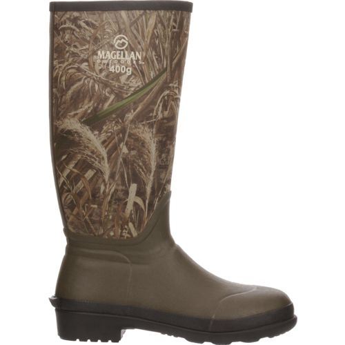 Display product reviews for Magellan Outdoors Men's Camo Jersey Knee Boot III Hunting Boots