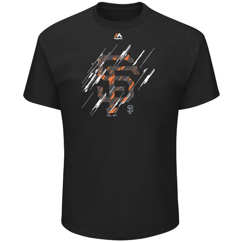 Majestic Men's San Francisco Giants Playing the Shift Short Sleeve T-shirt