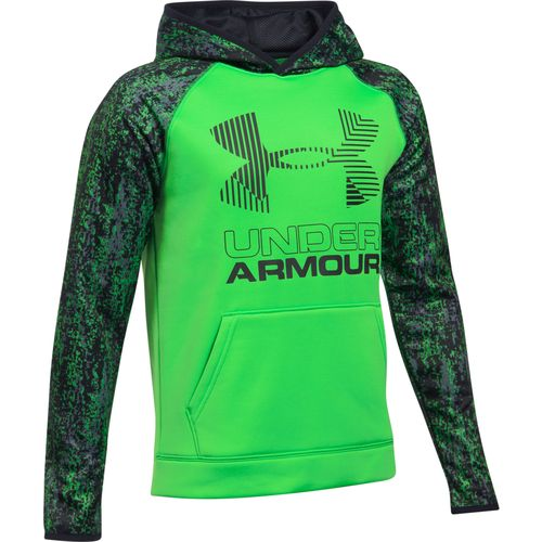 Under Armour Boys' Novelty Big Logo Hoodie