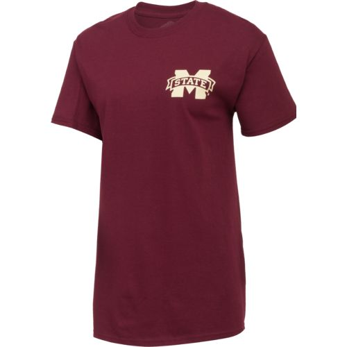 New World Graphics Women's Mississippi State University Logo Aztec T-shirt - view number 3