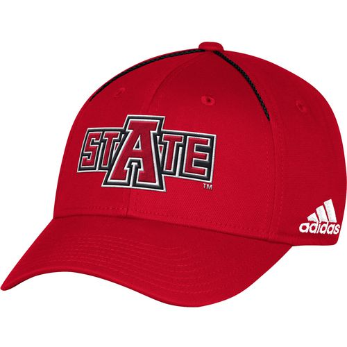 adidas Men's Arkansas State University Coach Structured Flex Cap