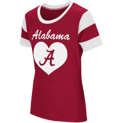 Colosseum Athletics Girls' University of Alabama Bronze Medal Short Sleeve T-shirt