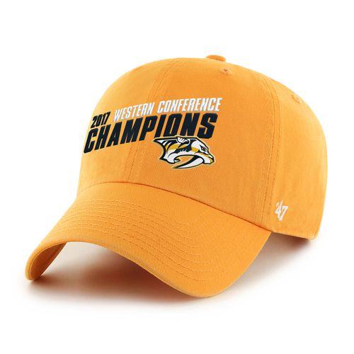 '47 Men's Nashville Predators 2017 NHL Western Conference Champs Clean Up Cap
