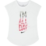 Nike Girls' I'm All Day Modern T-shirt - view number 4