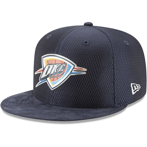 New Era Men's Oklahoma City Thunder 9FIFTY On Court Snapback Cap