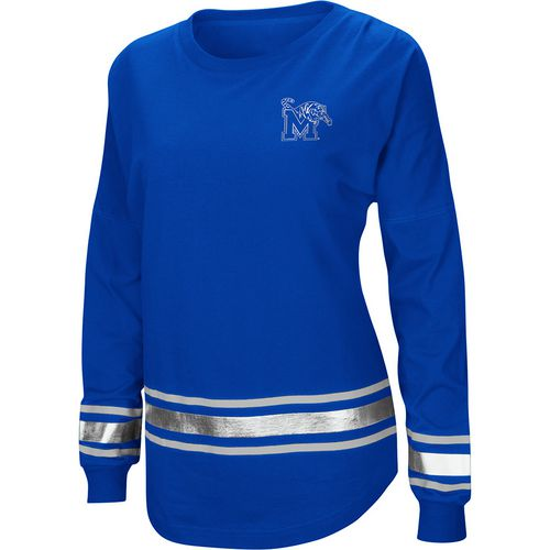 Colosseum Athletics Women's University of Memphis Humperdinck Oversize Long Sleeve T-shirt