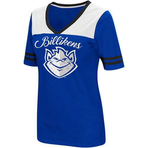 Colosseum Athletics Women's Saint Louis University Twist 2.1 V-Neck T-shirt
