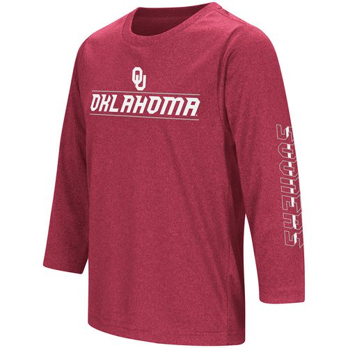 Colosseum Athletics Boys' University of Oklahoma Long Sleeve T-shirt