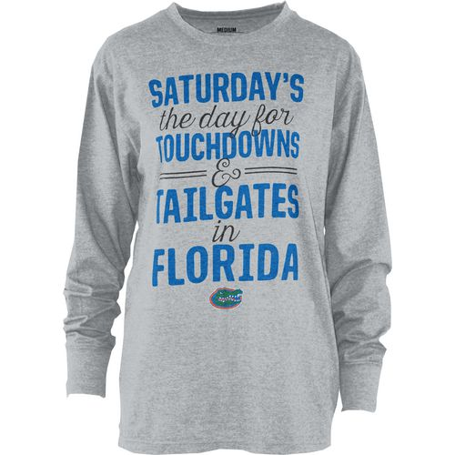 Three Squared Juniors' University of Florida Touchdowns and Tailgates T-shirt