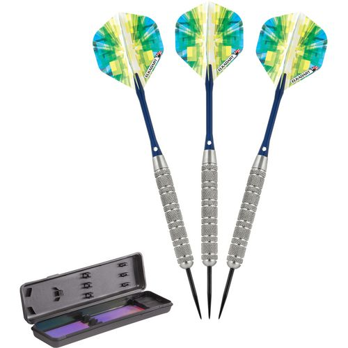 Elkadart Prism Ringed 21 g Steel-Tip Darts 3-Pack