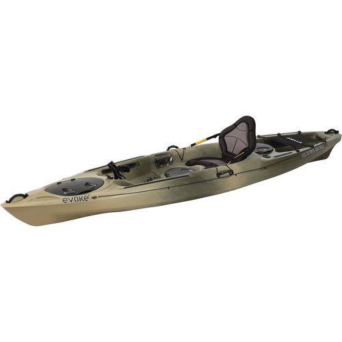 Evoke navigator 120 12 ft sit on top fishing kayak academy for Fishing kayak academy
