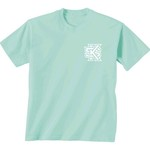 New World Graphics Women's Kennesaw State University Comfort Color Circle Flowers T-shirt - view number 2