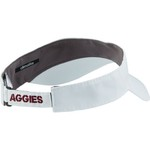 adidas Men's Texas A&M University Coach Adjustable Visor - view number 3