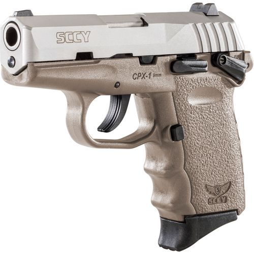 SCCY CPX-1 2-Tone 9mm Luger Pistol - view number 1