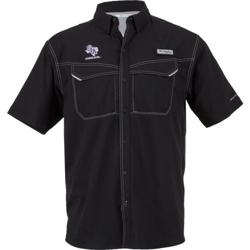 Columbia Sportswear Men's Stephen F. Austin State University Low Drag Offshore Short Sleeve Shirt