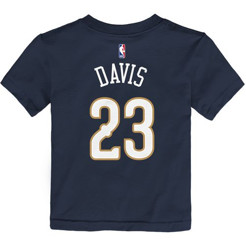 Nike Toddlers' New Orleans Pelicans Anthony Davis 23 Icon T-shirt