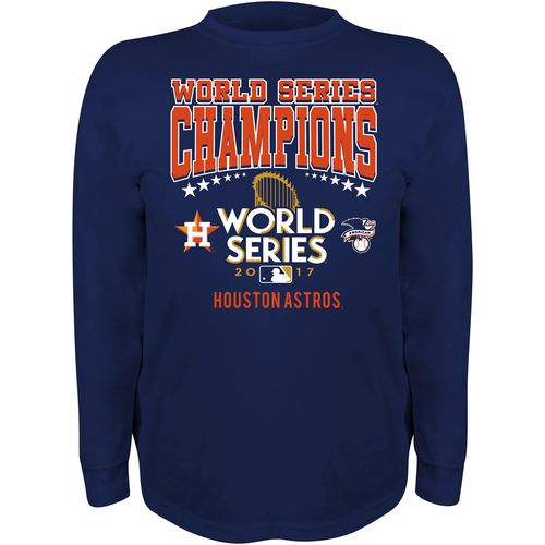 Stitches Kids' Astros World Series Champions Long Sleeve T-Shirt