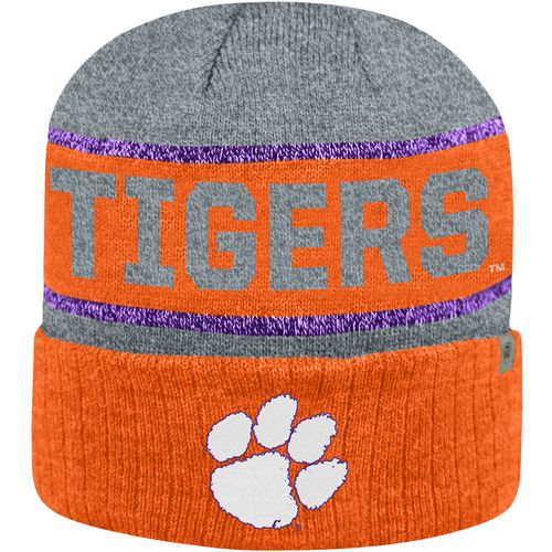 Top of the World Men's Clemson University Below Zero Cuff Knit Hat