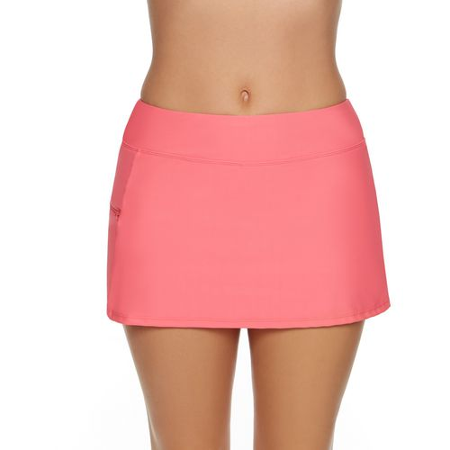 SE Rose Co. Women's Missy Solid Swim Skort