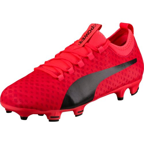 PUMA Boys' evoPOWER Vigor 3-D 3 FG Jr Cleats