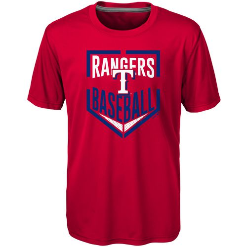 MLB Boys' Texas Rangers Run Scored Dri-Tek T-shirt