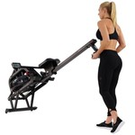 Sunny Health & Fitness Obsidian Surge Water Rowing Machine - view number 7