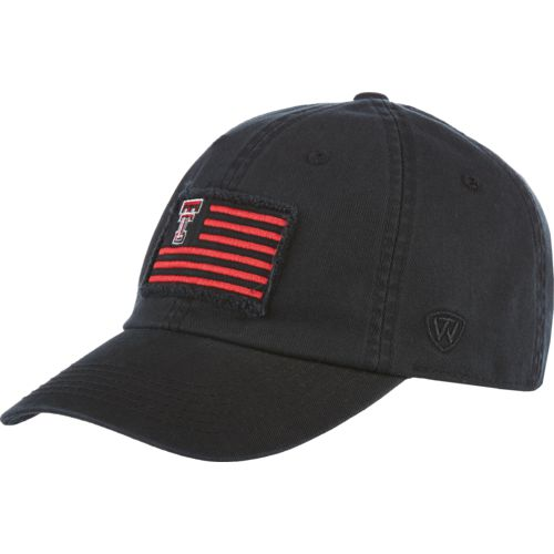 Top of the World Men's Texas Tech University Flag4 Adjustable Cap