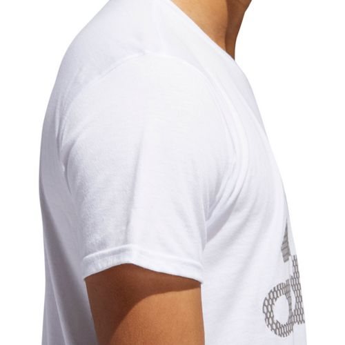 adidas Men's Badge of Sport Sizing T-shirt - view number 4