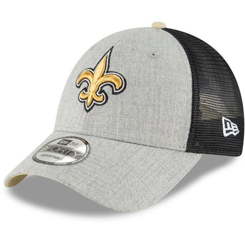 New Era Men's New Orleans Saints 9FORTY Heathered Turn Adjustable Cap