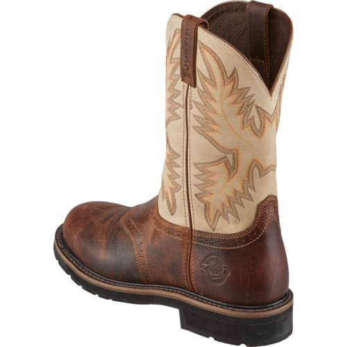 Justin Men's Apache Steel-Toe Boots - view number 3