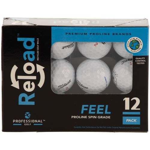 Image for Reload™ Proline Brands Recycled Golf Balls 12-Pack from Academy