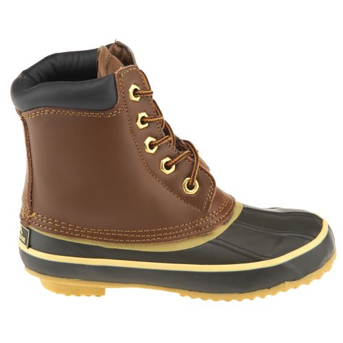 Polar Edge® Kids' Insulated Rubber 5-Eye Duck Boots